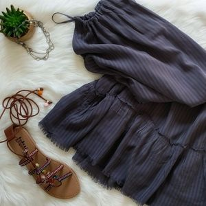 NWOT Cloth & Stone chambray dress